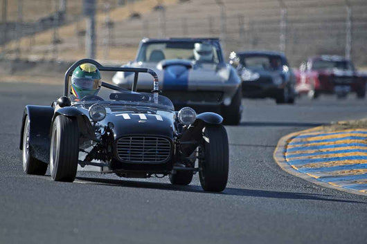 Michael Taradash - 1962 Lotus Seven in Group 3 -  at the 2016 Charity Challenge - Sonoma Raceway