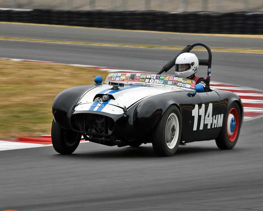Jean Pierre Molerus with 1954 Nichols Special in Group 1 - Small Bore Production Cars at the 2015 Portland Vintage Racing Festival at Portland International Raceway