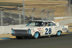 James Franzone - 1965 Ford Galaxie  in 1963-72 Grand National Stock Cars - Group 5 at the 2017 SVRA Sonoma Historic Motorsports Festivalrun at Sonoma Raceway