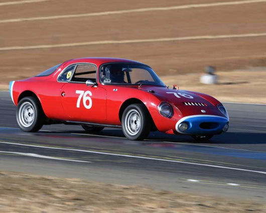 Sharon Wardman with 1963 Rene Bonnet D jet in  Group 1 at the 2015 Season Finale at Thunderhill Raceway