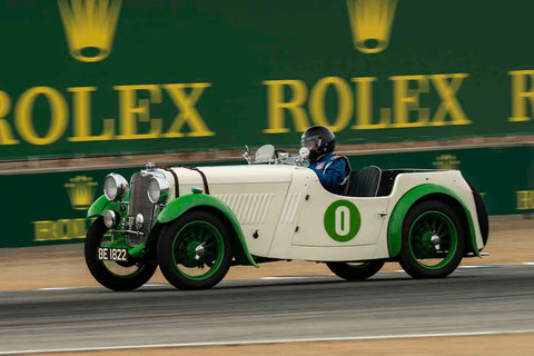 Ronald Stauber - 1939 Singer Nine in Group 1A - Pre 1940 Sports Racing & Touring Cars at the 2017 Rolex Monterey Motorsport Reunion run at Mazda Raceway Laguna Seca