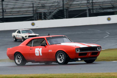 Bill Feaster - 1967 Chevrolet Camaro - Group 6 at the 2017 Brickyard Vintage Racing Invitationalrun at Indianapolis Motor Speedway