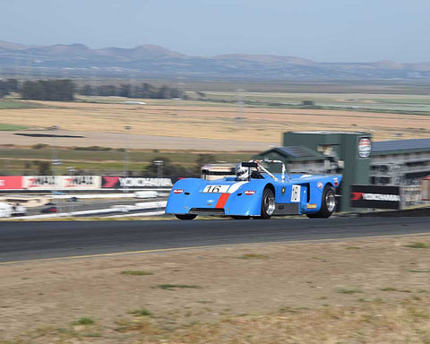 Randall Smith with 1971 Chevron B with 19 in Group 11 - 1966-1974 Historic Can-Am and 1971-1979 FIA Cars at the 2015 Sonoma Historic Motorsports Festival at Sonoma Raceway
