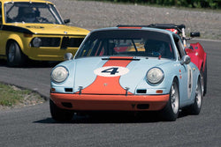 Steve Gilmore with 1967 Porsche 911 in Groups 2&3  at the 2016 SOVREN Spring Sprints, Pacific Raceway
