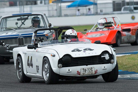 Allen Goode - 1967 Triumph TR4A - Group 3 at the 2017 Brickyard Vintage Racing Invitationalrun at Indianapolis Motor Speedway