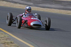 Marty Benck - 1962 Lotus 22 F Jr in Group 5 -  at the 2016 Charity Challenge - Sonoma Raceway