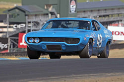 Trace Chalmers - Plymouth Roadrunner in 1963-72 Grand National Stock Cars - Group 5 at the 2017 SVRA Sonoma Historic Motorsports Festivalrun at Sonoma Raceway