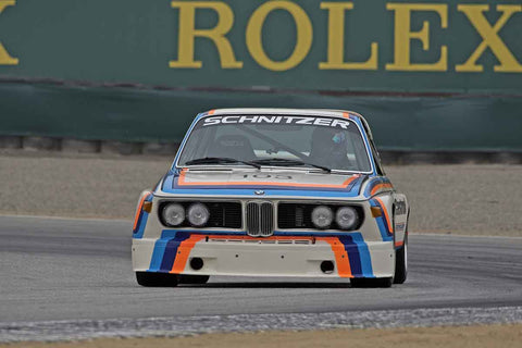 Thor Johnson - 1974 BMW Schnitzer in Group 4A  at the 2016 Rolex Monterey Motorsport Reunion - Mazda Raceway Laguna Seca