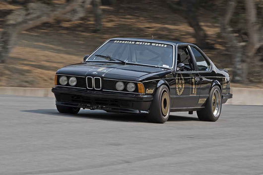 Adrian Brady - 1986 BMW 635CSI in Group 5B  at the 2016 Rolex Monterey Motorsport Reunion - Mazda Raceway Laguna Seca