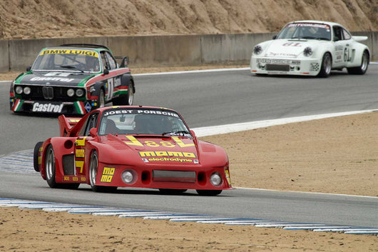 William E. Connor - 1980 Porsche 935J in Group 4A  at the 2016 Rolex Monterey Motorsport Reunion - Mazda Raceway Laguna Seca