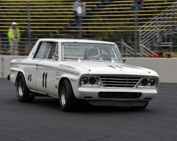 Jeff Taylor with 1964 Studebaker Daytona in Group 5 - WSC and World Manufactuer's Championship 1960-1972 at the 2015 Portland Vintage Racing Festival at Portland International Raceway