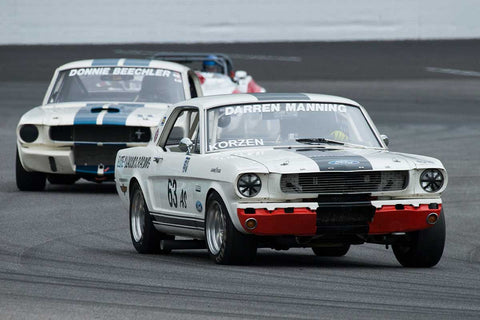 Robert Korzen - 1966 Ford Mustang - Group 6 at the 2017 Brickyard Vintage Racing Invitationalrun at Indianapolis Motor Speedway