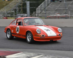 Dick Loofburrow with 1972 Porsche 911S in Group 8 - Production Sports Cars and Sedan 1973-1985 at the 2015 Portland Vintage Racing Festival at Portland International Raceway