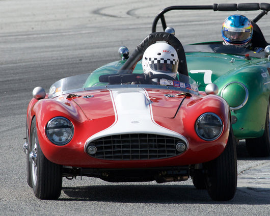 Jim Weissenborn with 1959 Byers MG Special at the 2016 HMSA LSR Invitational I at Mazda Raceway Laguna Seca