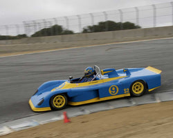 Jeff O'Callaghan with 1984 Swift DB2 in Group 4 at the 2015 HMSA LSR Invitational II at Mazda Raceway Laguna Seca