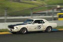 Rick Jeffrey - Ford Shelby Notchback in Group 3 at the 2017 CSRG David Love Memorial - Sears Point Raceway