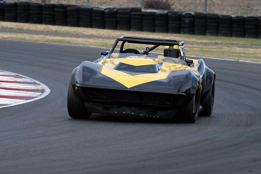 Erik Dolson with 1969 Chevrolet Corvette in Group 6 & 10 -  at the 2016 Portland Vintage Racing Festival - Portland International Raceway