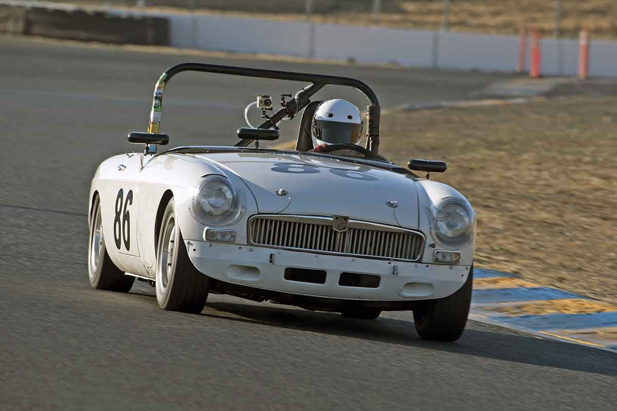 Dean Collins - 1963 MGB in Group 2 -  at the 2016 Charity Challenge - Sonoma Raceway