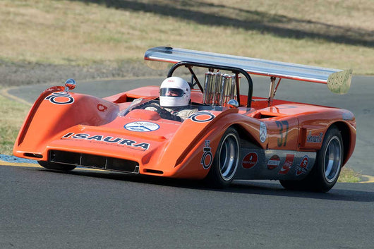 Nick Colonna with 1970 McLaren M8C in Group 11 at the 2016 SVRA Sonoma Historics - Sears Point Raceway