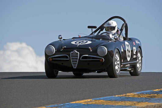 Tancredi D'Amore - 1957 Alfa Romeo Giulietta Spider in Group 1 -  at the 2016 Charity Challenge - Sonoma Raceway