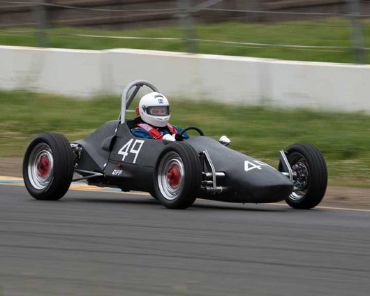 Scott Miller with Formula V in Group 5 - at the 2016 CSRG David Love Memorial - Sears Point Raceway