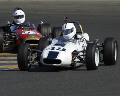 Eric Sidebotham driving his 1969 Winkelman WDF1 in Group 6 at the 2015 CSRG David Love Memorial Vintage Car Road Races at Sonoma Raceway