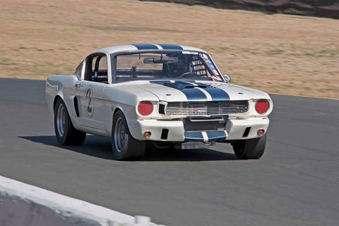 Tom Diaz - 1965 Ford Mustang GT in Group 3 - Large Displacement Production Sports Cars through 1967 at the 2017 CSRG Charity Challenge run at Sonoma Raceway