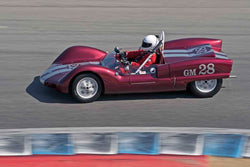 Charles Smith - 1962 Elva Mk 6 in Group 6B - 1955-1961 Sports Racing Cars under 2000cc at the 2017 Rolex Monterey Motorsport Reunion run at Mazda Raceway Laguna Seca