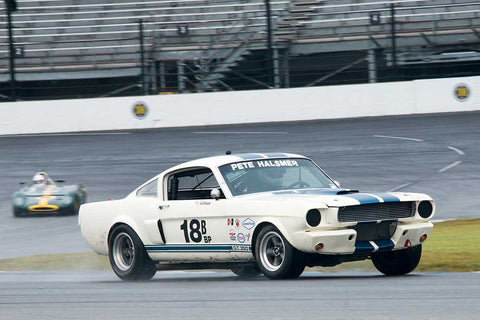 Alain Vinson - 1966 Shelby GT350 - Group 6 at the 2017 Brickyard Vintage Racing Invitationalrun at Indianapolis Motor Speedway