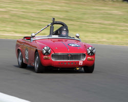 Bill Greenman with 1967 MG Midget in Group 2 - at the 2016 CSRG David Love Memorial - Sears Point Raceway