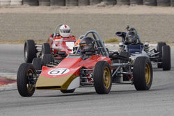 Jonathan Kitchen - 1969 Lotus 61 in Group 2 at the 2017 HMSA Spring Club Event - Mazda Raceway Laguna Seca