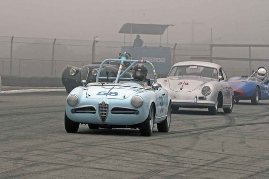 Jonathan Burke - 1957 Alfa Romeo Giulietta Spider in Group 1B  at the 2016 Rolex Monterey Motorsport Reunion - Mazda Raceway Laguna Seca