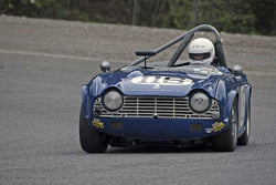 John James - 1965 Triumph TR4 in Group 2 at the 2017 SOVREN Spring Sprints run at Pacific Raceways