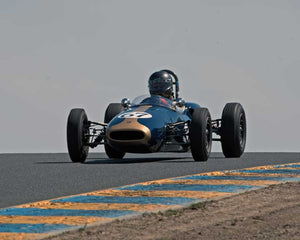 Ned Spieker with 1963 Brabham BT6 in Group 5 - at the 2016 CSRG David Love Memorial - Sears Point Raceway