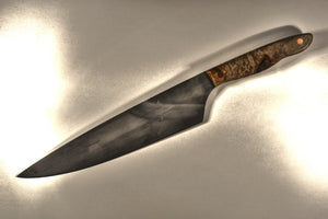 SOLD - Powhatan 8.5 with Ash Burl Handle