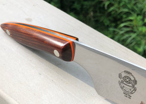 Order a Custom High Grade Stainless Steel Chef Knife with Custom Logo