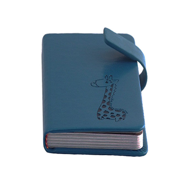 Blue Vintage Journal Diary Book - Gifts Are Blue - 1