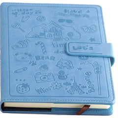 Blue Leather Journal & Diary, A5,128 Sheets - Gifts Are Blue - 1