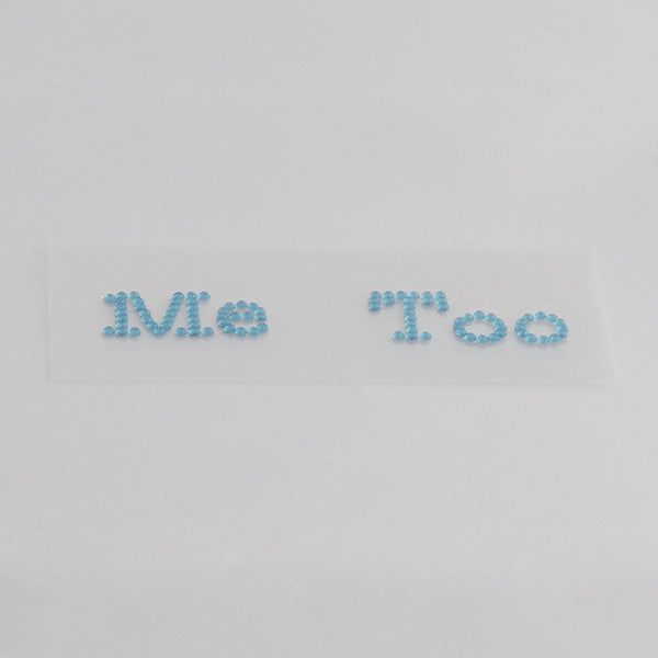 I Do Me Too Shoe Stickers for Weddings - Gifts Are Blue - 5