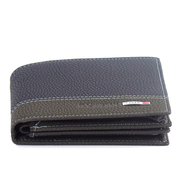 Men's Designer Blue Leather Wallet