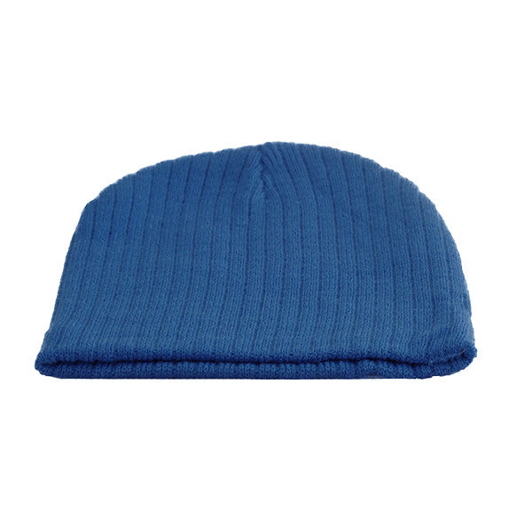 Little Kids Blue Beanie Hat - Gifts Are Blue - 3, Royal Blue
