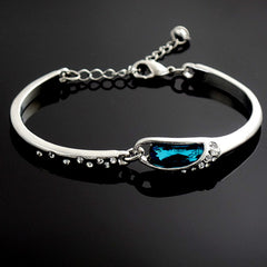 Simply Elegant Ocean Blue Women's Bracelet with Gift Box - Gifts Are Blue - 3