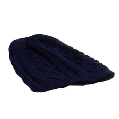 Blue Unisex Slouchy Beanie Hat - Gifts Are Blue - 3
