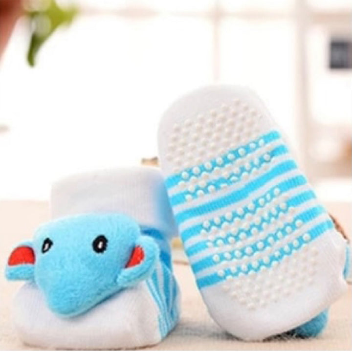 Cute Infant Baby Cotton Socks Shoes, 0 to 6 Months - Gifts Are Blue - 12 Lifestyle