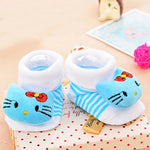 Cute Infant Baby Cotton Socks Shoes, 0 to 6 Months - Gifts Are Blue - 13 Lifestyle