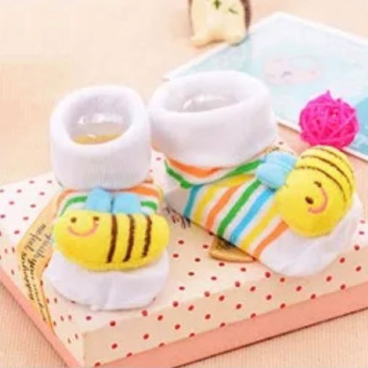 Cute Infant Baby Cotton Socks Shoes, 0 to 6 Months - Gifts Are Blue - 16 Lifestyle