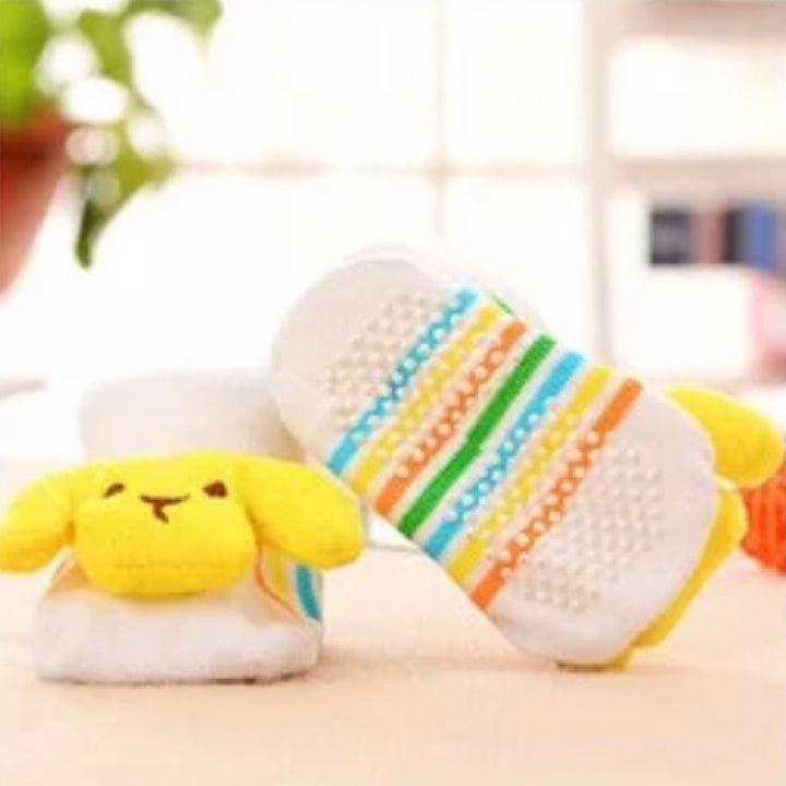 Cute Infant Baby Cotton Socks Shoes, 0 to 6 Months - Gifts Are Blue - 17 Lifestyle