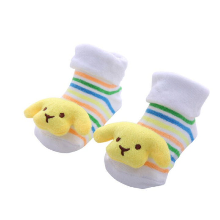 Cute Infant Baby Cotton Socks Shoes, 0 to 6 Months - Gifts Are Blue 17