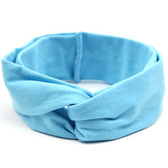 Blue Baby and Kids Headband / Head Scarf - Gifts Are Blue - 2