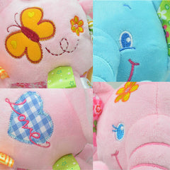 Cute Plush Lullaby Musical Elephant for Baby - Gifts Are Blue - 6